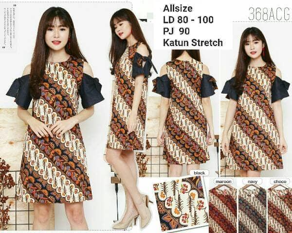 Dress Batik Modern 012