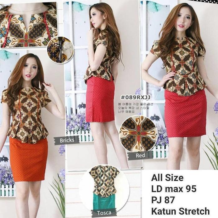 Dress Batik Modern 003