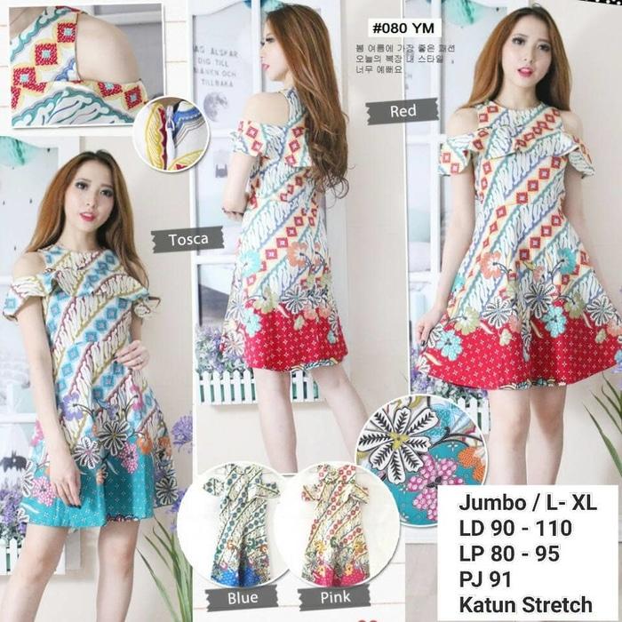 Dress Batik Modern Sabrina
