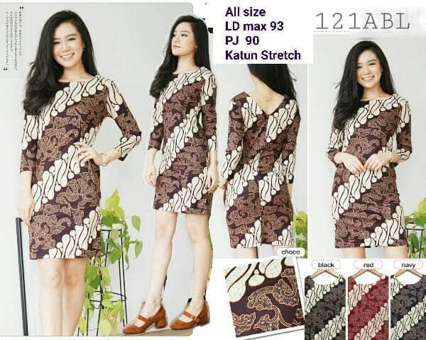 Dress Batik Modern 013