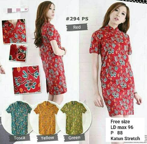Dress Batik Modern 004