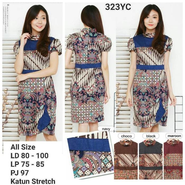 Dress Batik Modern 007