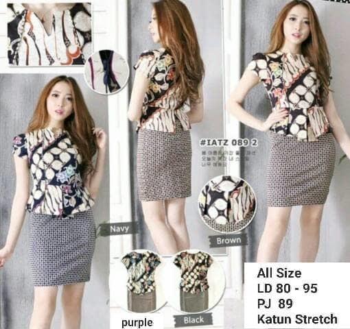 Dress Batik Modern 002