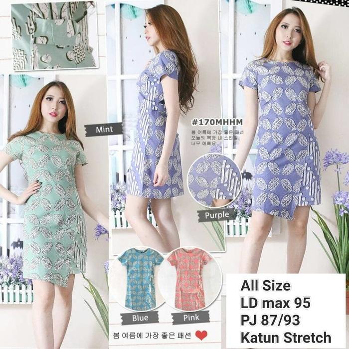 Dress Batik Modern 010