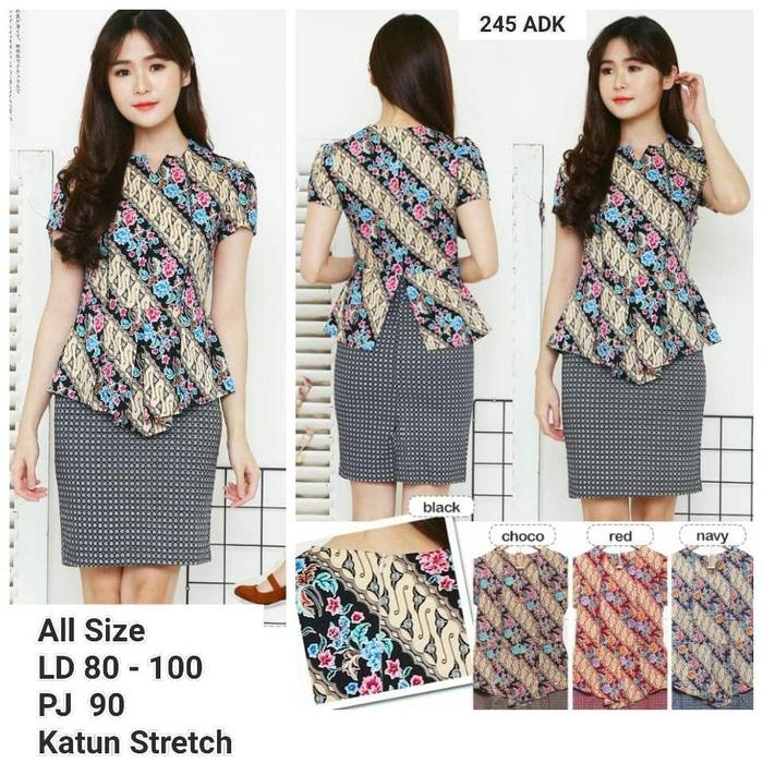 Dress Batik Modern 011