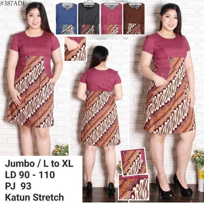 Dress Batik Modern 008