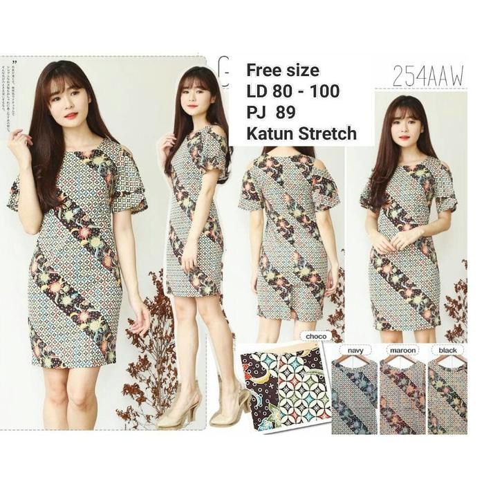 Dress Batik Modern 005