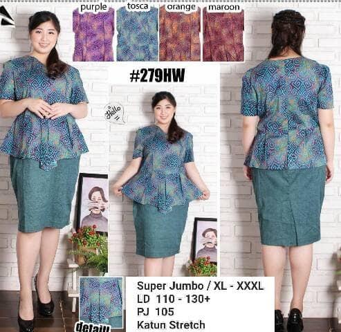 Dress Batik Modern 006
