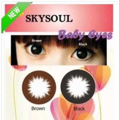 Softlens Sky Soul Baby Eyes