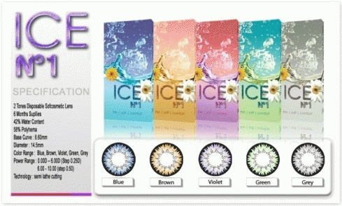 Softlens X2 Ice N1