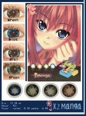 Softlens X2 Manga Cartoon