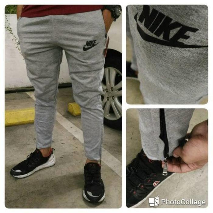 Celana Olahraga Training Running Nike Adidas Zip