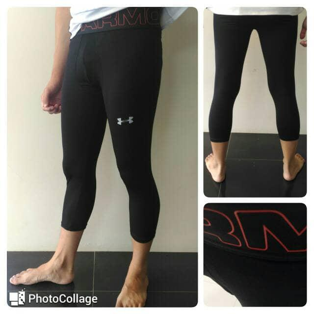 Celana Olahraga Legging Manset Under Armour 78