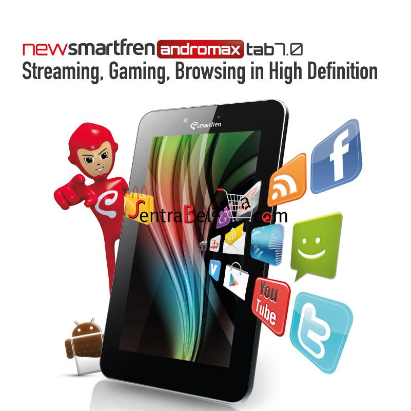 New Smartfren Andromax Tab 7 Inches PC Tablet