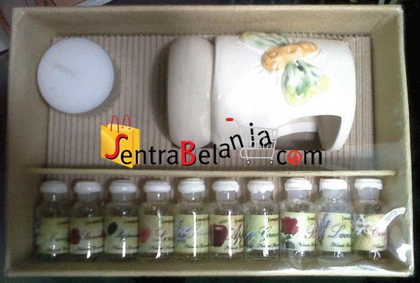 Aroma Terapi Paket Tungku dan Essential Oil