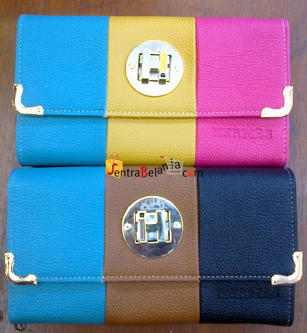 Dompet Hermes 3 Colour 001