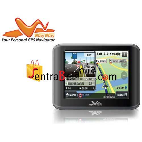 GPS PAPAGO WAYWAY Q3033