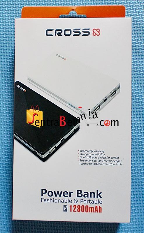 PowerBank Cross 12800mAh Black