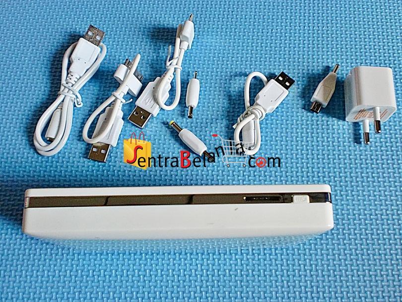 PowerBank Cross 12800mAh White