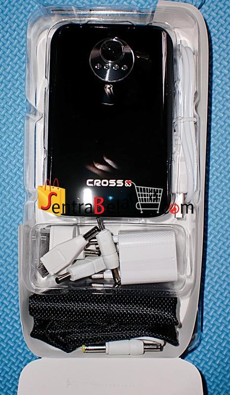 PowerBank Cross 8800MAH Black