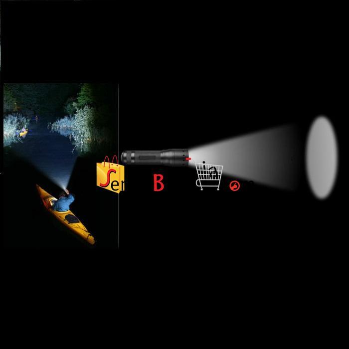 Senter LED Cree T77439