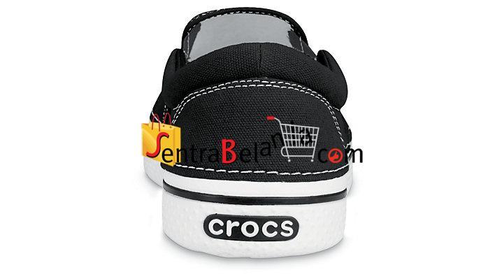 Sepatu Crocs Hover Slip On Black