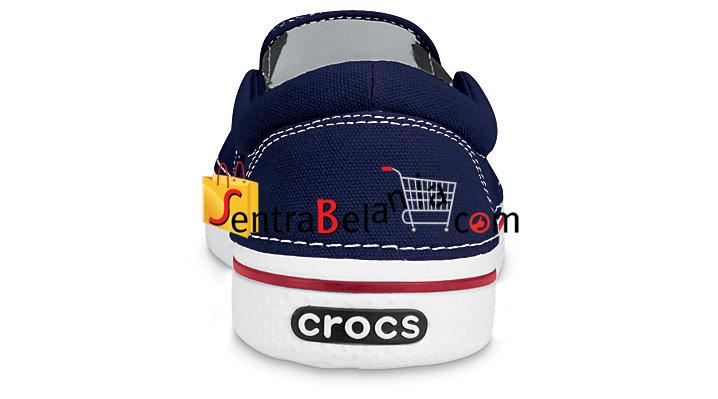 Sepatu Crocs Hover Slip On Navy