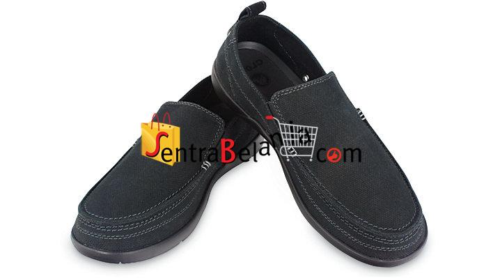 Sepatu Crocs Walu Men Black