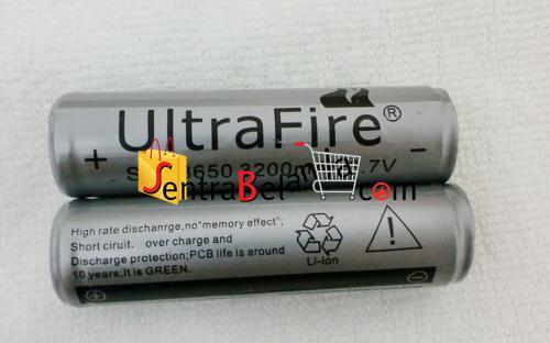 Baterai UltraFire 3200mAH