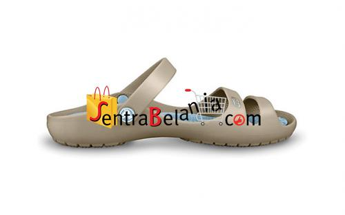 Sandal Crocs Cleo Khaki-Sky Blue