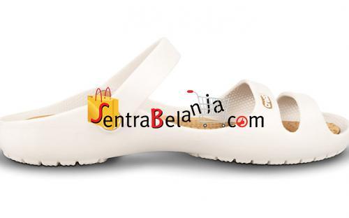 Sandal Crocs Cleo Oyster-Gold