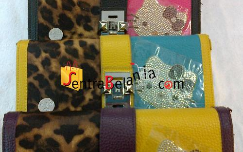 Dompet Hermes Hello Kitty Leopard 1 Colour