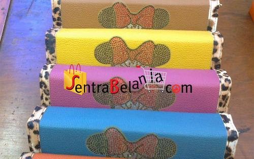 Dompet Hermes Minnie Mouse Leopard 1 Colour