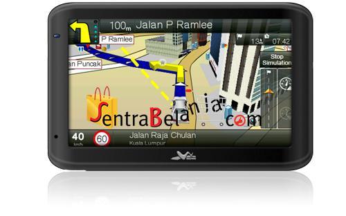 GPS PAPAGO WAYWAY Q4035