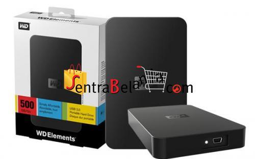 HardDisk Portable Western Digital Element 500GB
