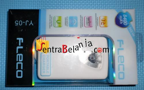 Powerbank Fleco 8400mAH White