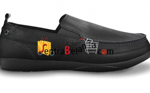 Sepatu Crocs Harborline Loafer Black