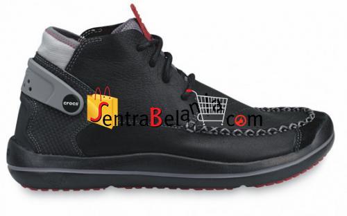 Sepatu Crocs Linden Boot Black