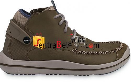 Sepatu Crocs Linden Boot Mushroom-Chocolate