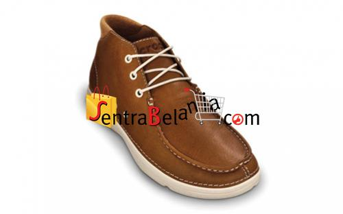 Sepatu Crocs Thompson Mid Leather Hazelnut